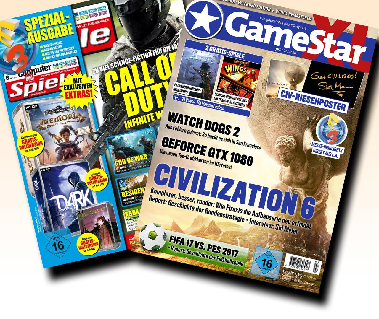 Computer Bild Spiele Aktionscode