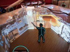Xbox-Kinect-Sensoren und Projektoren sind der Kern des Gamedeck.