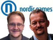 Florian Emmerich (links) und Jan Binsmaier wechseln überraschend von EuroVideo Games zu Nordic Games.