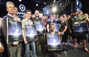 Die Sieger des Gamescom Award 2016 (Foto: KoelnMesse)