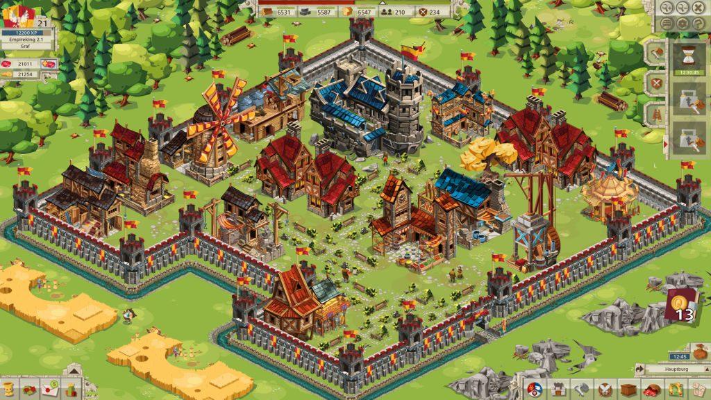 Goodgame Empire (im Bild) und der Mobile-Ableger Empire: Four Kingdoms sind für weite Teile des Goodgame-Umsatzes verantwortlich.
