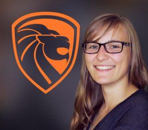 """Dr. Uta Allenstein (""""Luvia"""") ist die Vorstandsvorsitzende von Leipzig eSports e. V."""