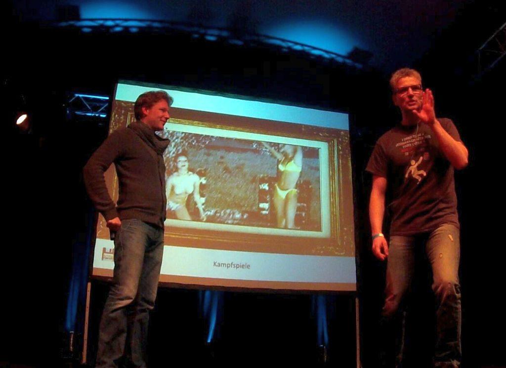 Christian Schmidt und Gunnar Lott von Stay Forever referieren auch live vor Publikum über Retro-Schätze.