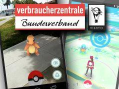 Verbraucherzentrale vs Niantic: Die Datenschutzklauseln von Pokémon Go verstoßen offenkundig gegen deutsches Recht (Abbildungen: VZBV, Nintendo, Niantic / Montage: GamesWirtschaft)