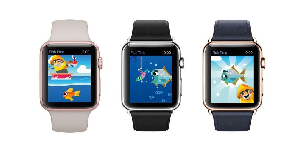 Fish Time erscheint im Herbst und soll von den Features des Betriebssystems WatchOS 3 profitieren.