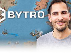 Bytro-Labs-Gründer Felix Faber wirbt für Browsergames.