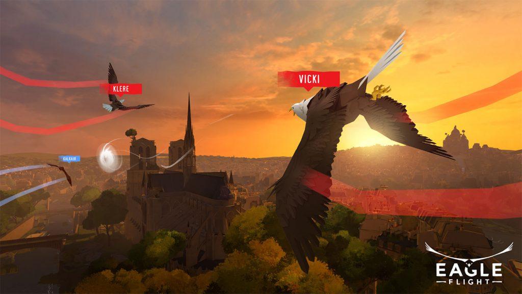 Ubisofts Virtual-Reality-Spiel Eagle Flight erscheint für Oculus Rift, HTV Vive und PlayStation VR.