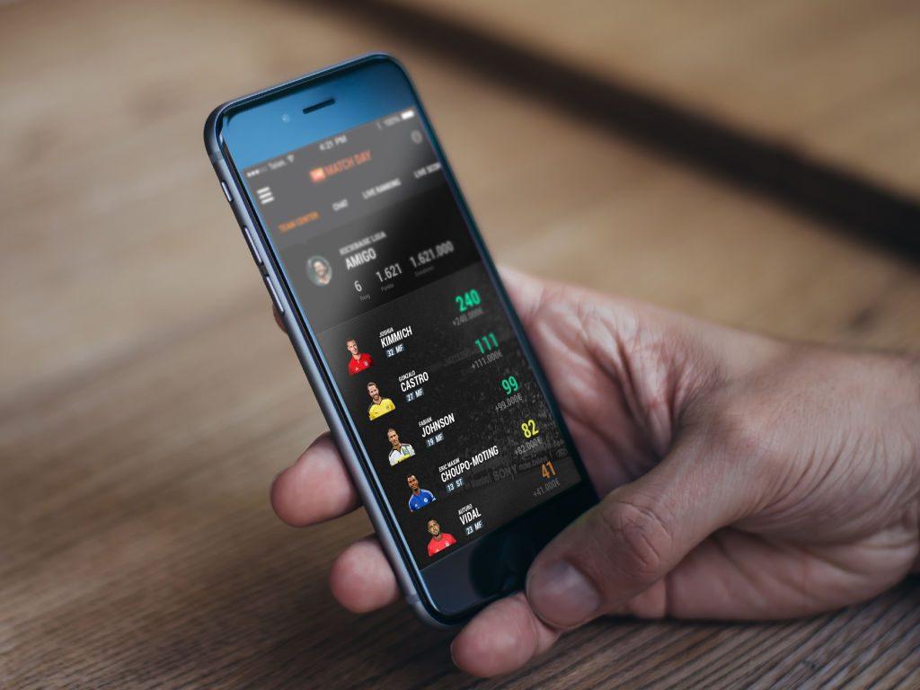 Marktwert von Spielern und Teams berechnet Kickbase live während des laufendes Spieltages - sekundengenau (Foto: Kickbase GmbH).