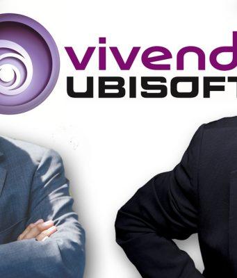 Vivendi-Großaktionär Vincent Bolloré (links) und Ubisoft-Gründer Yves Guillemot kämpfen um die Macht beim Spieleriesen.