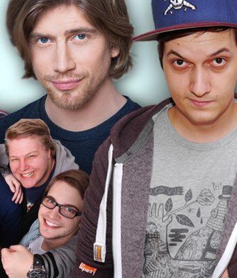 Frodoapparat, Sarazar, LeFloid, Paluten (von links) und das PietSmiet-Quintett gehören zum Portfolio der Influencer-Agentur 2nd Wave.