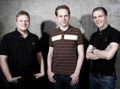 Die drei Innogames-Gründer: Michael Zillmer, Hendrik Klindworth, Eike Klindworth