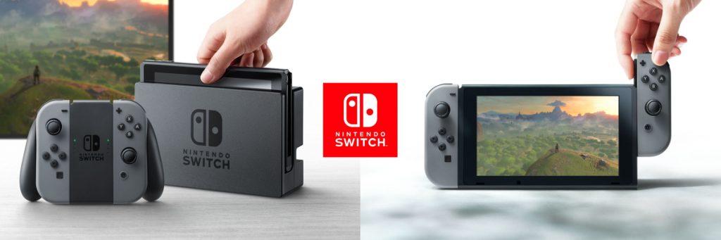 Aus Stationär mach Mobil: Die Komponenten des Nintendo Switch lassen sich vielfältig kombinieren.