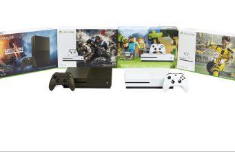 Die neuen Xbox One S Bundles im Überblick.