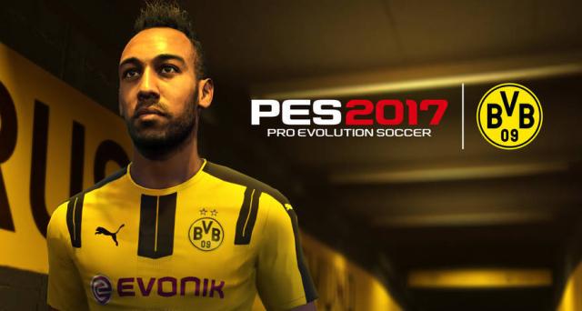 BVB-Star Aubaymeyang in Konamis Fußballsimulation PES 2017