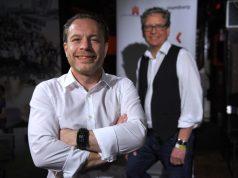 Oliver Redelfs (vorne) ist der Nachfolger von Stefan Klein bei GameCity:Hamburg.