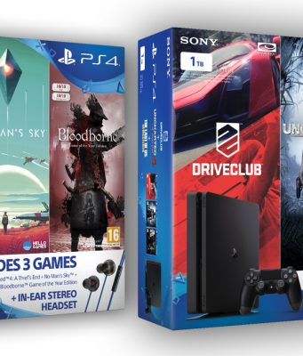 Die PlayStation 4 Bundles enthalten unter anderem den Blockbuster Uncharted 4: A Thief's End.