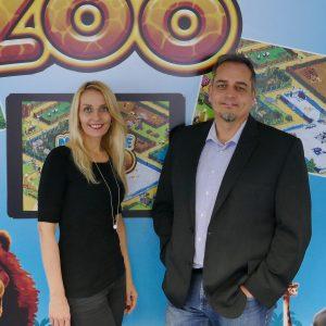 Die Geschäftsführung von Upjers: Marika Schmitt und Klaus Schmitt