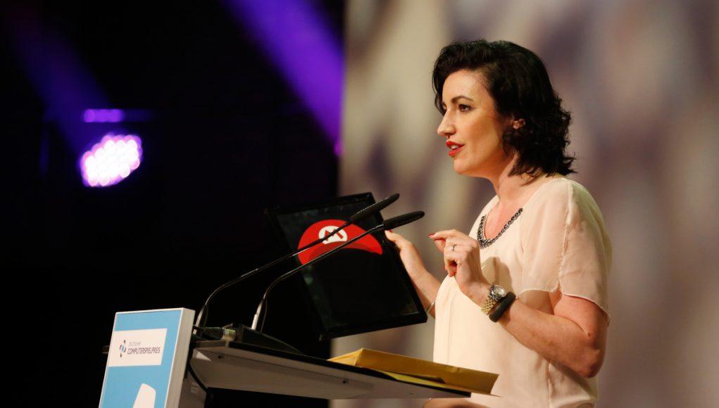 Dorothee Bär beim DCP 2015 (Foto: Getty Images/Franziska Krug)