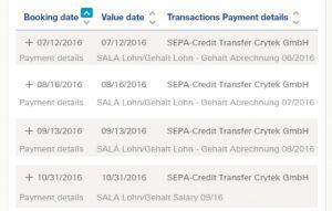 Kein Gehalt von Crytek seit September: Ludvig Lindqvist legt seinen Kontoauszug offen.