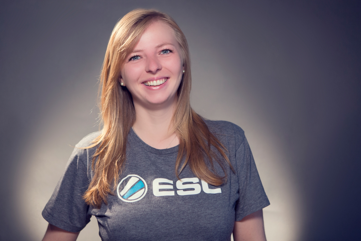Anna Rozwandowicz, Director of Communications bei ESL Gaming