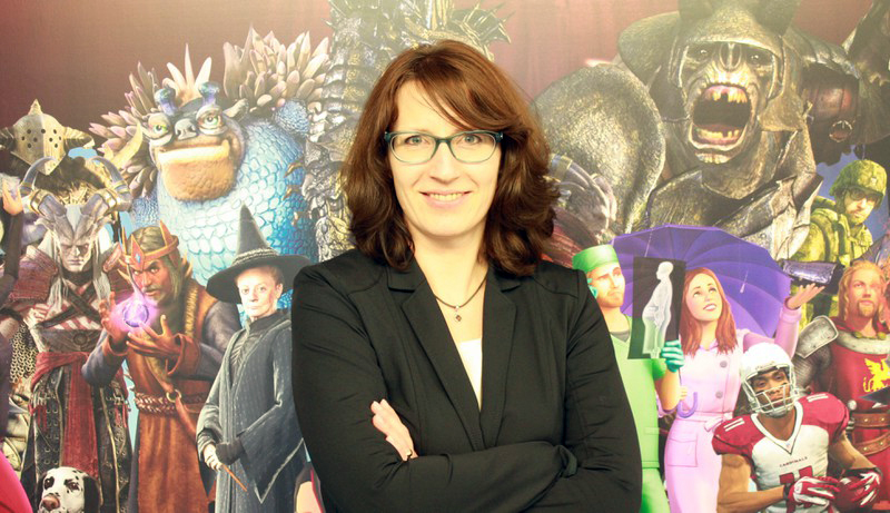 Michaela Bartelt-Krantz, Senior Director Worldwide Localization bei Electronic Arts Deutschland