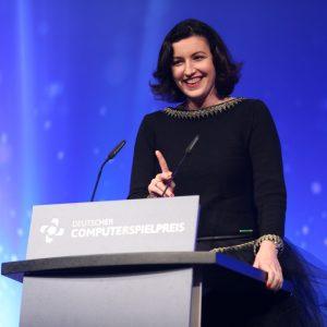 Dorothee Bär, Parlamentarische Staatssekretärin im BMVI (Foto: Gisela Schober/Getty Images for Quinke Networks)