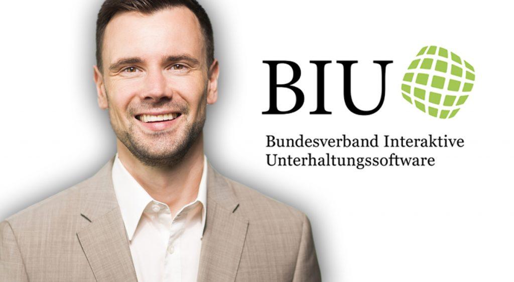 Felix Falk, Geschäftsführer des Branchenverbands BIU e. V.