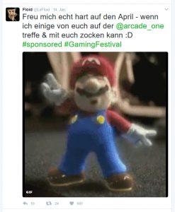 Social-Media-Stars wie LeFloid trommelten auf ihren Kanälen für die Arcade One.