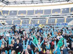 Drei Jahre in Folge fand die ESL One in der Frankfurter Commerzbank-Arena statt (Foto: ESL / Patrick Strack)