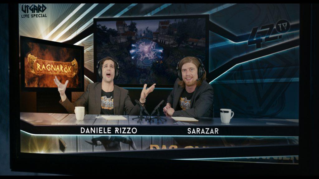 OFFLINE: Die Youtuber Daniele Rizzo und Sarazar treten in Gastrollen auf.