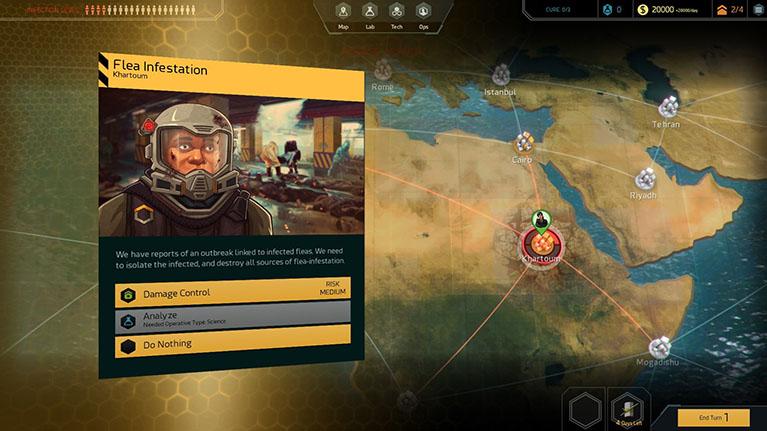 Seit 9. Februar via Steam Early Access erhältlich: das Rundenstrategiespiel Quarantine.