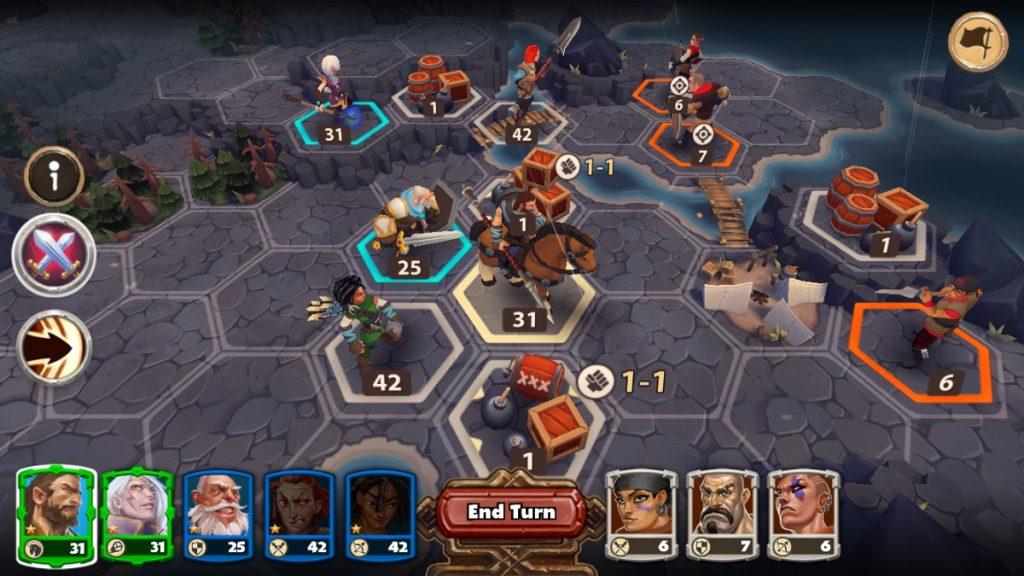 So sieht Warlords im Live-Betrieb aus. Wooga hat das Strategiespiel nun an InnoGames verkauft.