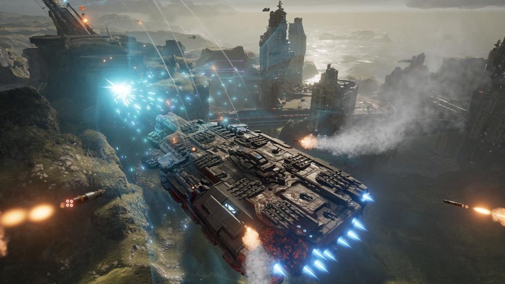Szene aus Dreadnought: Das Yager-Spiel erscheint für PC und PlayStation 4.