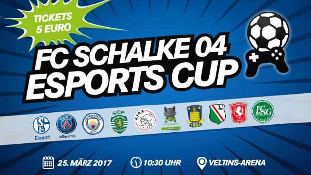 Einige der besten FIFA-Spieler Europas Europa reisen zum FC Schalke 04 eSports-Cup 2017.