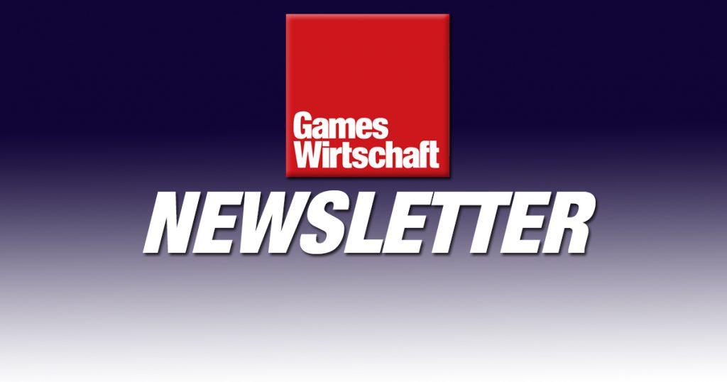 Kostenlos und jede Woche frisch: der GamesWirtschaft Newsletter.