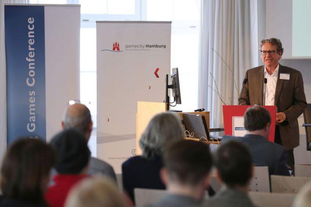 Die Hamburg Games Conference findet 2017 zum 8. Mal statt.