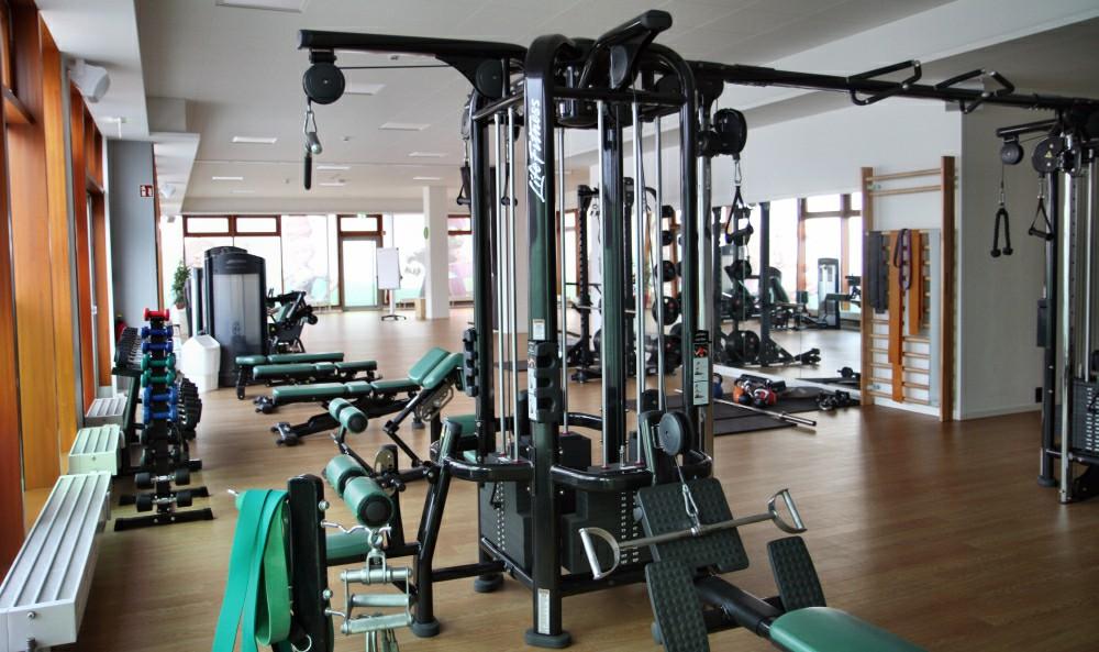 Besser ausgestattet als manch kommerzielle Konkurrenz: das InnoGames-eigene Fitness-Studio.