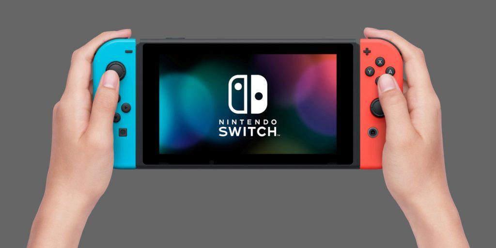 """Im sogenannten """"Handheld-Modus"""" mutiert die Nintendo Switch zur tragbaren Spielekonsole."""