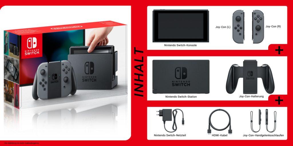 Im Lieferumfang der Nintendo Switch ist kein Spiel enthalten.