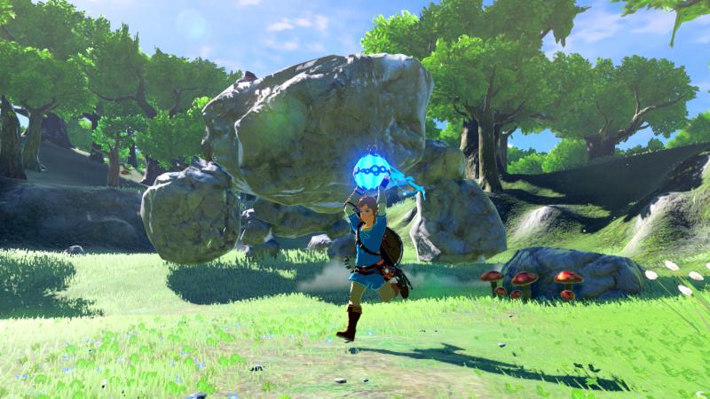 Bringt Presse und Spieler gleichermaßen ins Schwärmen: The Legend of Zelda: Breath of the Wild