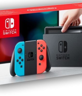 Verkaufsstart am 3. März: Die Nintendo Switch ist in Grau und als Rot-/Blau-Kombi erhältlich.