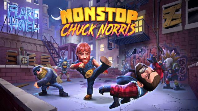 Nonstop Chuck Norris erscheint Ende April für iOS und Android.