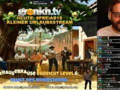 """Fast 20 Minuten lang widmete sich Erik Range (""""Gronkh"""") in seinem Twitch-Live-Stream dem Thema """"Rundfunklizenz""""."""