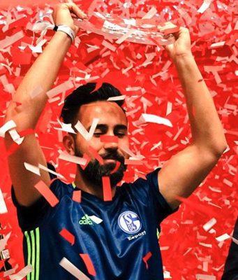 Cihan Yasarlar gewinnt die Virtuelle Bundesliga 2017.