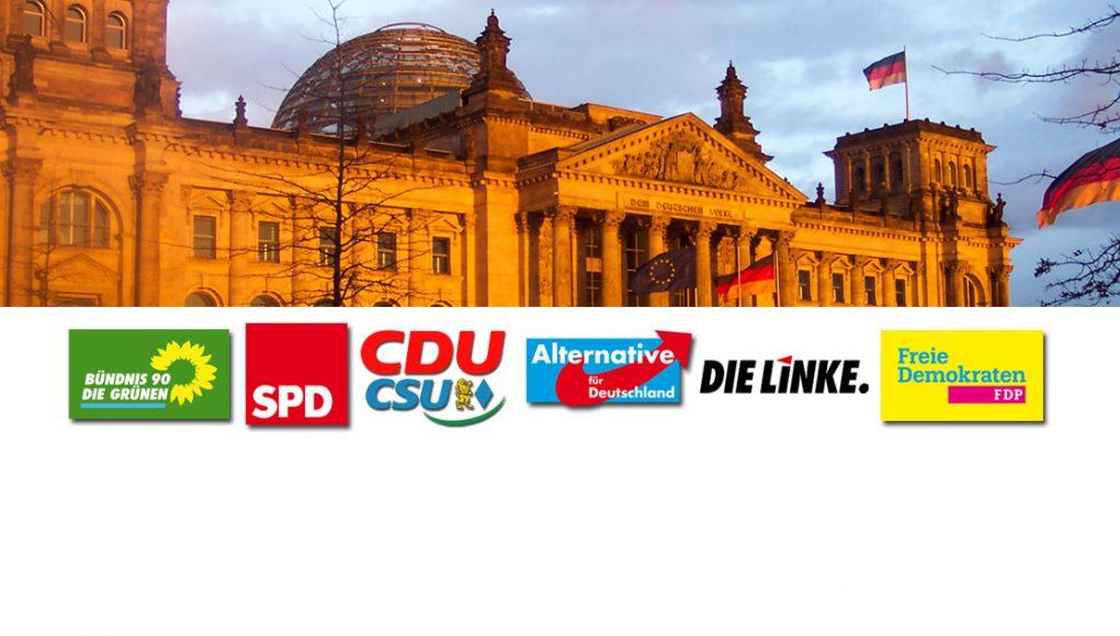 Bundestagswahl 2017: Wahlprogramme der Parteien im Überblick