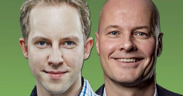 InnoGames-CEO Hendrik Klindworth und MTG-Manager Arnd Benninghoff