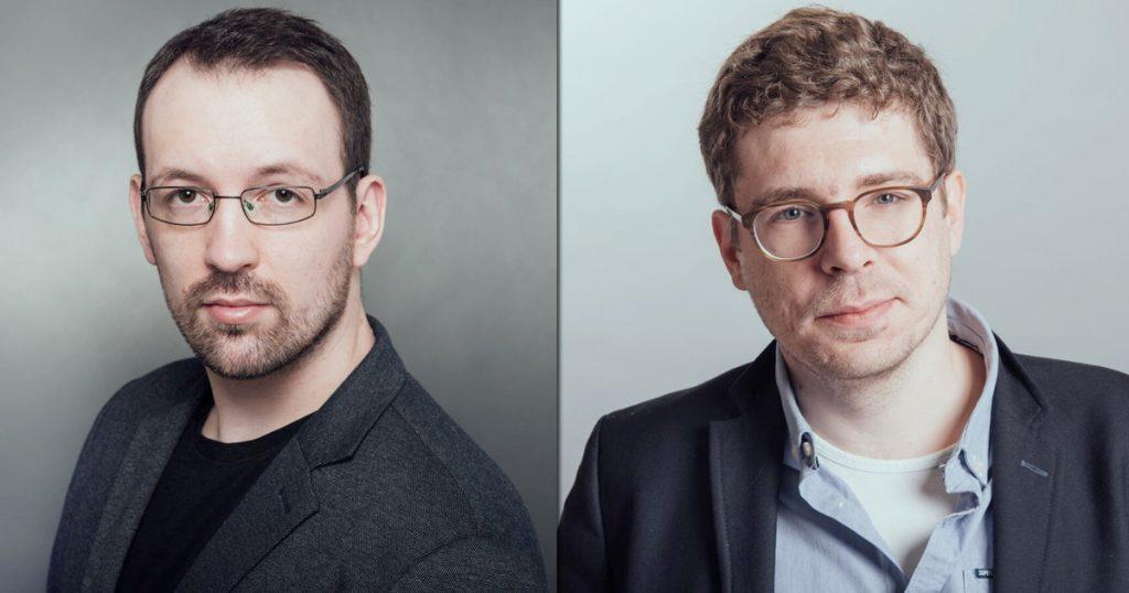 Die Gründer von Token Tantrum: Chris Bliss und Philippe Stegmann.