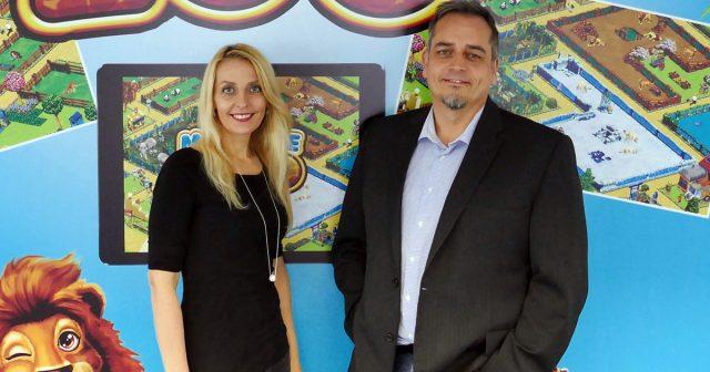 Die Gründer und Geschäftsführer von Upjers: Marika und Klaus Schmitt