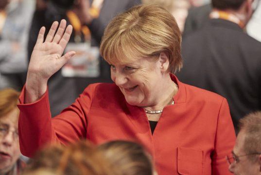 Bundeskanzlerin Angela Merkel (Foto: CDU / Laurence Chaperon)