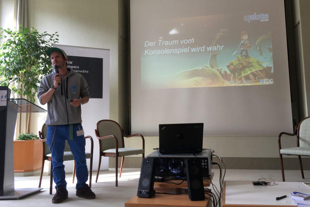 """FDG-Gründer Philipp Döschl schildert den """"Oceanhorn""""-Weg vom Mobilegame zum Konsolenspiel."""